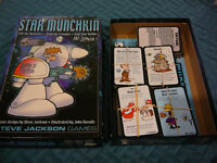 Star Munchkin Card Game with Expansion