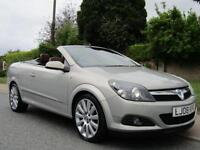 2008 Vauxhall Astra TWIN TOP 1.9 CDTi 150 16V DESIGN 2DR CONVERTIBLE *EVERY E...
