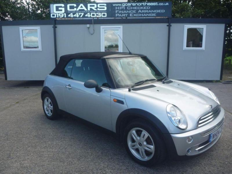 2004 04 MINI CONVERTIBLE 1.6 ONE 2D 89 BHP