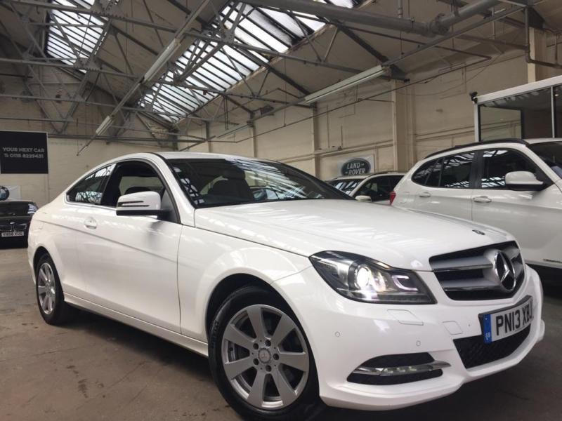 2013 mercedes benz c class 2 1 c220 cdi se executive pack coupe 2dr diesel in new basford. Black Bedroom Furniture Sets. Home Design Ideas