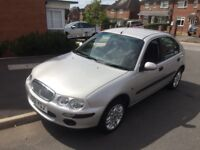 Rover 25 only 55,000 miles in very good condition