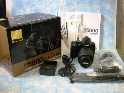 Nikon D5000 with Nikon 18-55mm lens - near new condition Marrickville Marrickville Area Preview