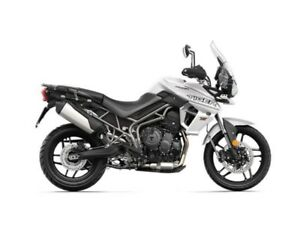 2019 Triumph Tiger 800 XRT Crystal White