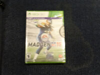 Madden 2015 for Xbox 360. Brand New and Sealed.