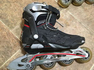 Mens size 10 -- FireFly Rollerblades SL250