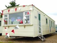 Static Caravan Nr Clacton-on-Sea Essex 3 Bedrooms 8 Berth Cosalt Torino 2007