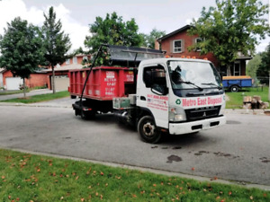 Flat Rate Disposal Bin Rental Dumpster Junk Removal 647-856-6902