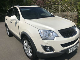 Vauxhall/Opel Antara 2.2CDTi white ( 184PS ) ( AWD )2172cc auto 2012MY SE may px