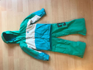 Xtra Small kids DC winter coat and snow pants