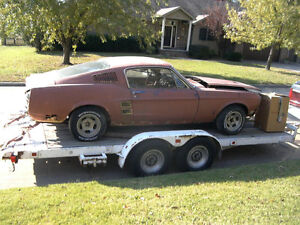 1967/1968 Fastback Mustang Project