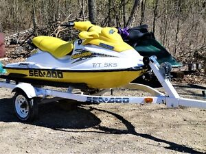 2002 SEADOO  GSX  800 EXCELLENT SHAPE WITH TRAILER