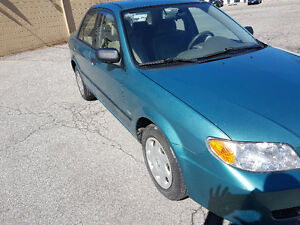 2002 Mazda protege with E-test&safety