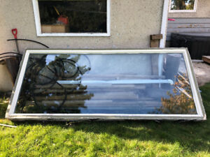 Used vinyl windows for sale. Cheap!