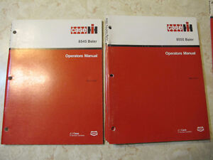 Case IH Baler Operator Manuals 8420,8430,8545,8555,8455,8465 Regina Regina Area image 2