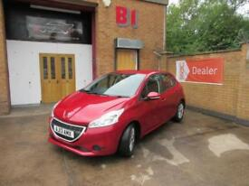 2013 Peugeot 208 1.4HDi FAP Access+ 5dr Manual Hatchback in Red