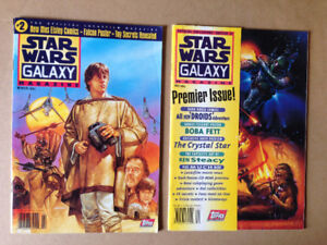 First two issues of Star Wars Galaxy Magazine (1994)