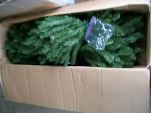 6 foot 3 piece xmas tree with stand,brand new still in the box