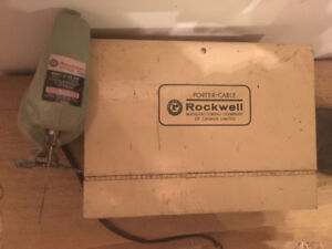 Scie sauteuse Rockwell