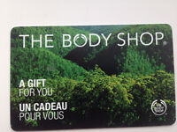 35$ body shop gift card