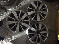 standard alloys golf , Audi and seat Leon