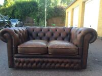 Chesterfield two seater sofa free London delivery