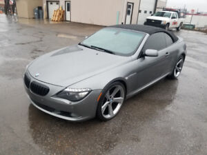 2008 BMW 650 CI CONVERTIBLE ** LOW LOW KM *** SALE PRICED $19995