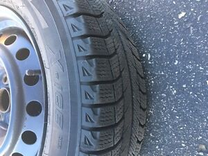 Michelin X-Ice Winter Tires with Rims Kitchener / Waterloo Kitchener Area image 1