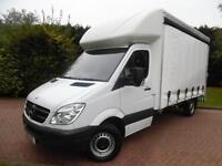 2008/58 Mercedes-Benz Sprinter 311 2.1 CDI LWB CURTAIN SIDE*19245*MILES FROM NEW