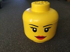 Lego Head Storage Container