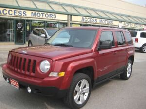 2012 Jeep Patriot, 4x4, Extra Clean, North Edition, We Finance