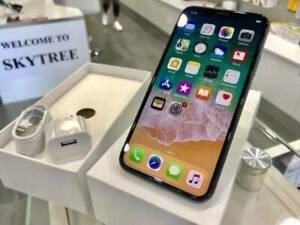 iPhone X 64gb Silver / Space grey unlocked Warranty tax invoice