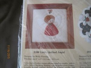 Creative Circle Christmas Little Quilted Angel kit