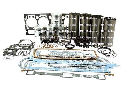 Engine Overhaul Kit Fits Massey Ferguson 35 Petrol Fe35 135 Petrol 87mm Bore