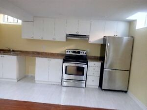 *****Newly built 1 bedroom SHARED basement apartment****
