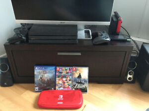 PS4 Pro & Nintendo Switch for sale