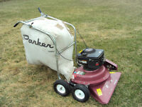 Yard vacuum , Parker Minute Man Model # SV89301CSP