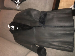 Custom made leather coats for sale.