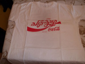 T SHIRT COCA COLA   HEBREUX