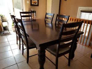 Set de cuisine avec 6 chaises