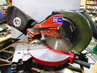 "10"" King Mitre Saw + 2 blades and extension bars"