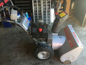 """QUALITY SEARS CRAFTSMAN 27"""" SNOWBLOWER EXCELLENT CONDITION"""