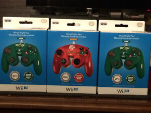 Wii U wired controllers