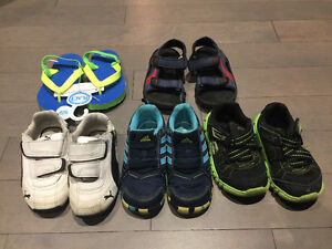 Size 8 - toddler boy shoes boots runners sandals