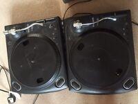 2 Numark turntables TT1550 + mixer dj decks d.j equipment