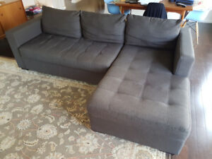 EQ3 Couch with chaise
