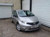 2014 64 Nissan Note 1.5dCi Visia **1 Owner From New **Service History**