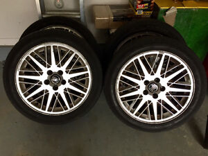 205/50 R17 Volvo mags and Summer Tires 4