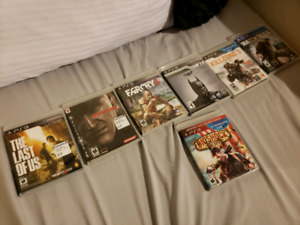 Great ps3 game titles!!