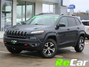 2016 Jeep Cherokee Trailhawk TRAILHAWK | REDUCED | LEATHER |...