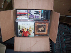 CDS  AND  175  CASSETTE  TAPES  --  GOSPEL  MUSIC